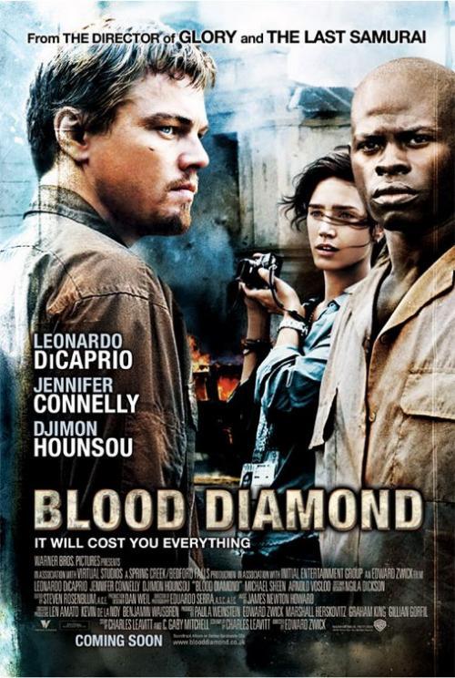 blood diamond. 發行公司:華納