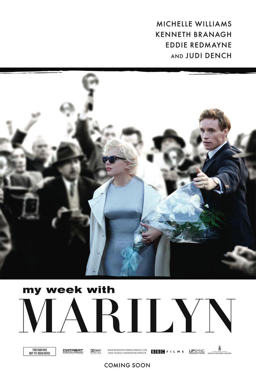 [電影介紹] 夢露與我的浪漫週記 My Week with Marilyn