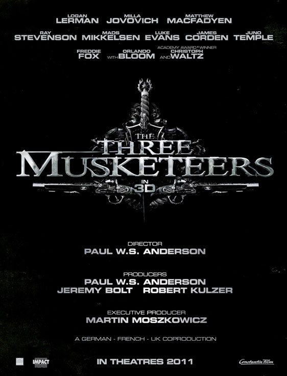 [電影介紹] 3D三劍客 The Three Musketeers