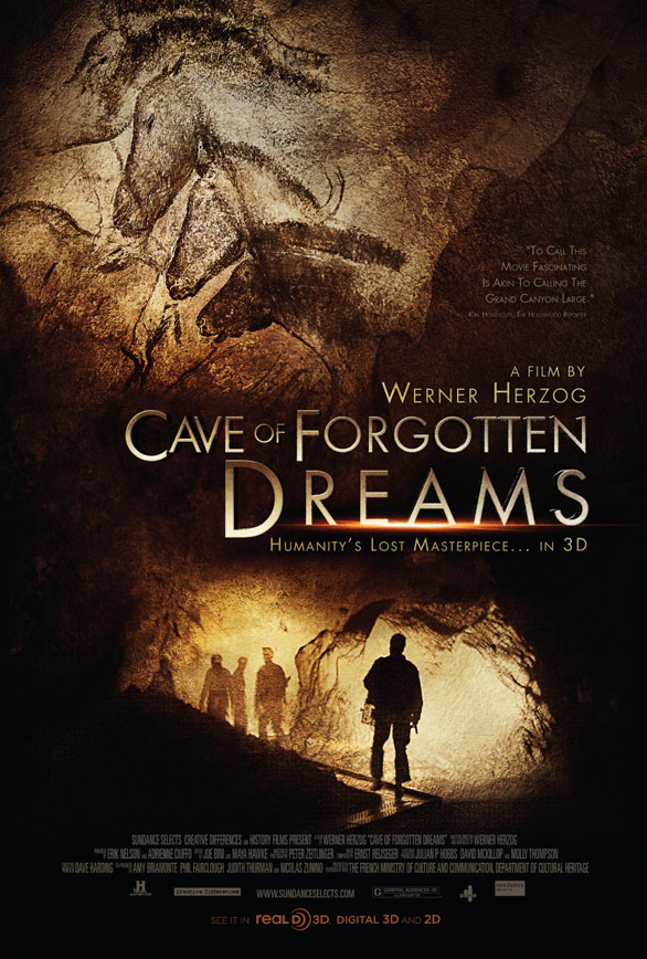 [電影介紹] 荷索之3D祕境夢遊 Cave of Forgotten Dreams