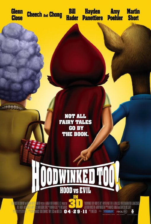 [電影介紹] 小紅帽2 Hoodwinked Too! Hood vs. Evil
