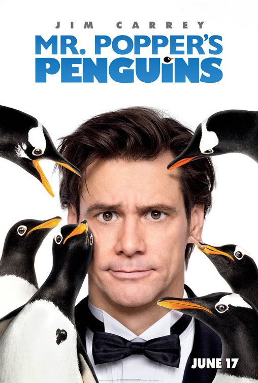 [電影介紹] 波普先生的企鵝 Mr. Popper's Penguins
