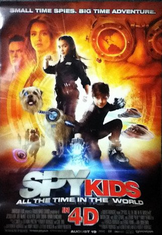 [電影介紹] 小鬼大間諜4 Spy Kids: All the Time in the World