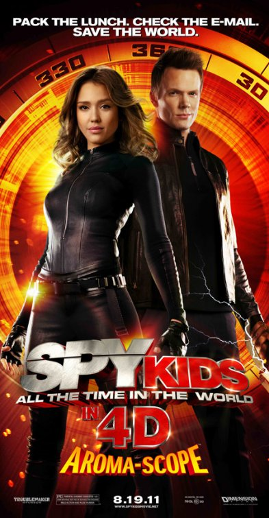 [電影介紹] 王牌小間諜 Spy Kids: All the Time in the World