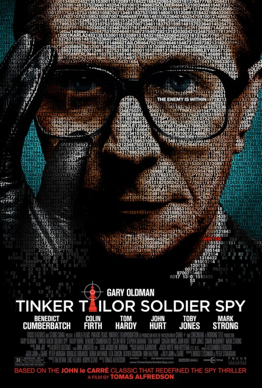 [電影介紹] 諜影行動 Tinker, Tailor, Soldier, Spy