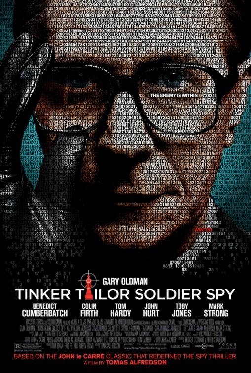 [電影介紹] 諜影行動 Tinker, Tailor, Soldier, Spy