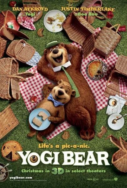 [電影介紹] 瑜珈熊 Yogi Bear